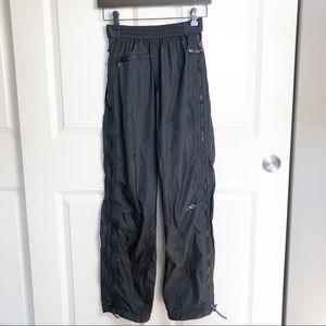 Marmot Waterproof Full Side Zip Black Rain Pant